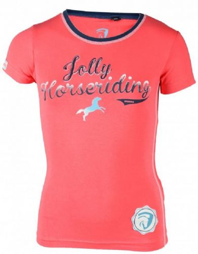 Horka Jolly Dalton T-Shirt in Coral